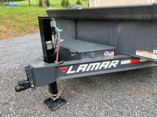 2019 Lamar 7x16 Dump Trailer 14000# GVW