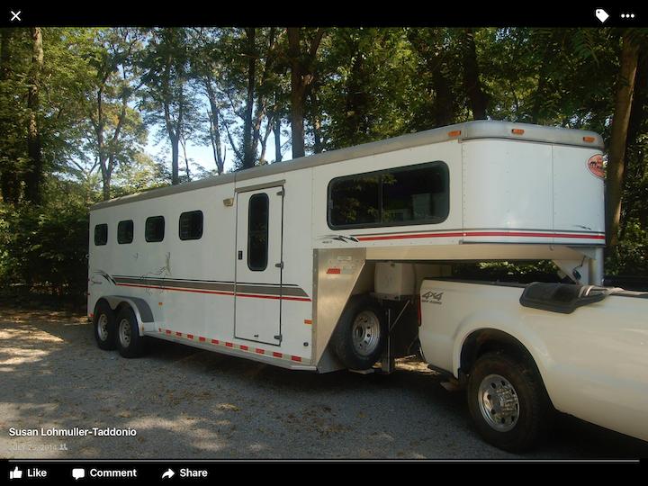 2000 Sundowner 4 Horse Gooseneck Trailer