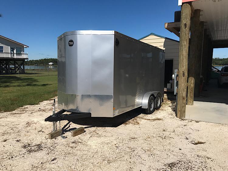 2019 Wells Cargo RFV716T2 Enclosed Cargo Trailer