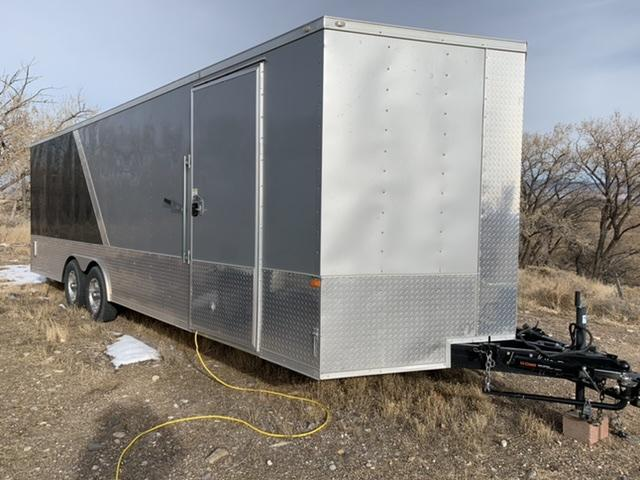 2019 USA Trailers 8.5 x 24 Rock Solid Car Hauler Custom Beauty