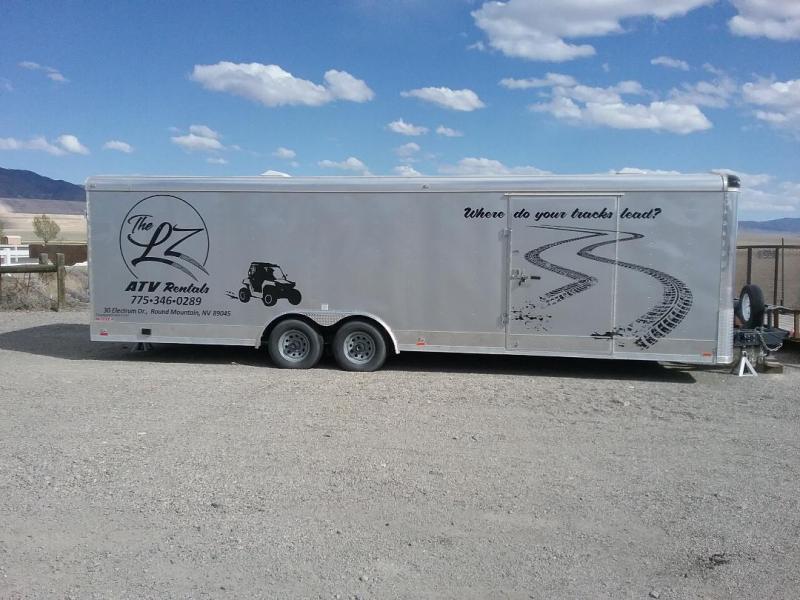 2019 Cargo Mate ZS 8 x 28 Enclosed Cargo Trailer