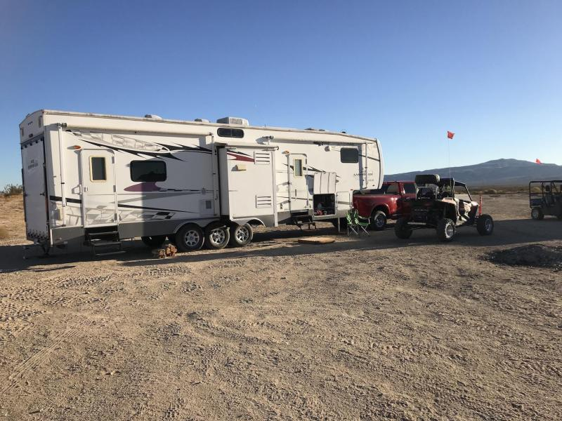 2008 Forest River 387 XL Toy Hauler