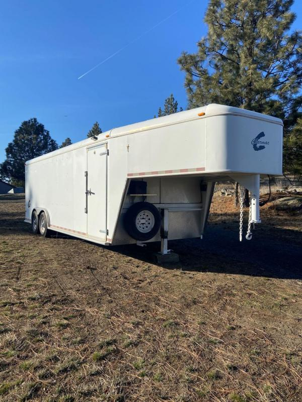 "2007 Charmac 8'6"" x 26' Gooseneck Enclosed Cargo Trailer"