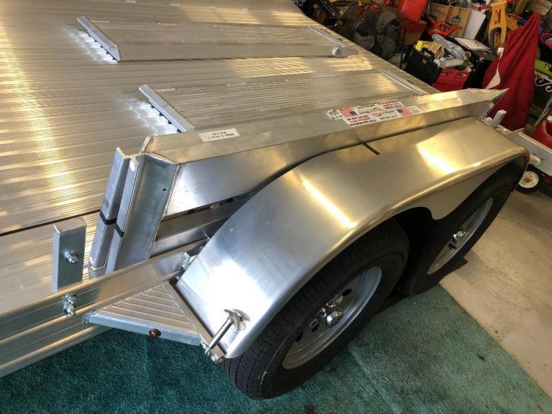 2018 Featherlite 7 x 14 Aluminum Car Hauler