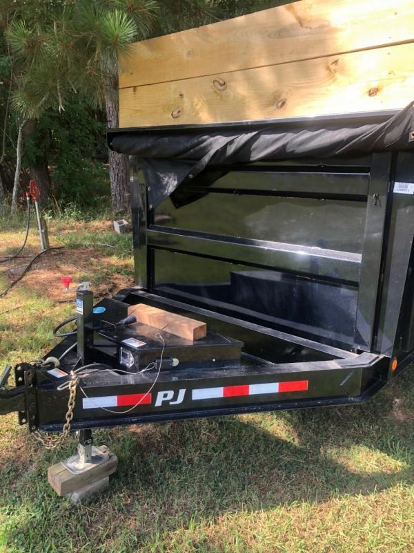 2019 PJ Trailers Low-Pro High Side Dump Trailer