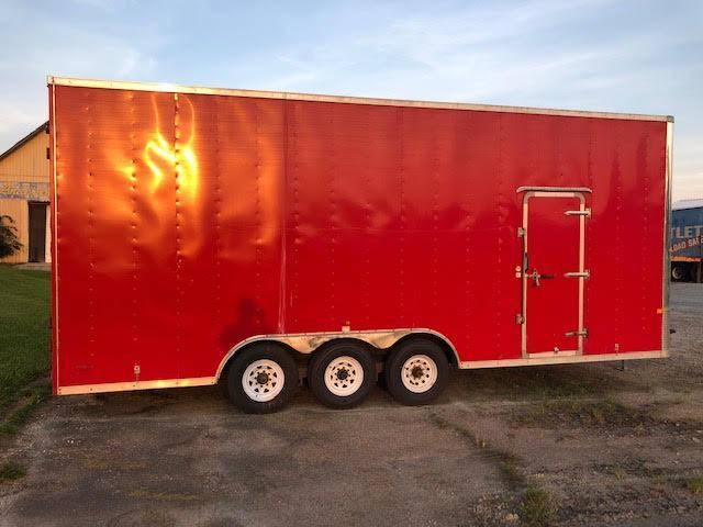 2011 Royal Cargo Trailers 8.5 x 24 Enclosed Tri-Axle Enclosed Cargo Trailer