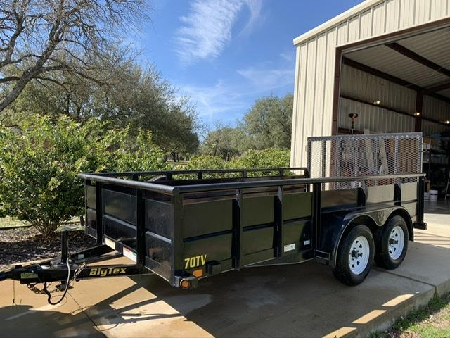 2013 Big Tex 7 x 14 Landscape / Utility Trailer