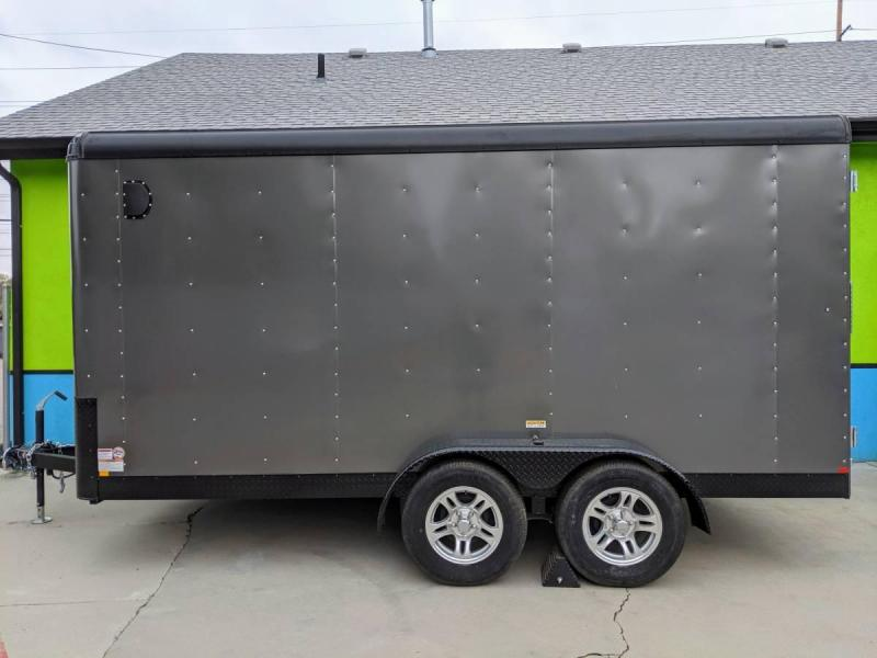 2019 Mirage Xpress 7x14 Tandem Axle Enclosed Cargo Trailer