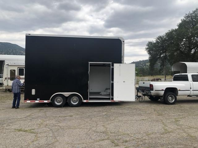 2009 Eliminator 8' x 18' Enlosed Cargo Trailer