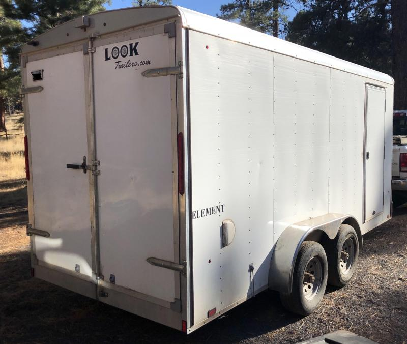 2014 Look Trailers 8 x 16 Refrigerated Cargo Trailer