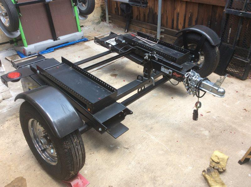 2017 Stinger 8' x 14' Folding Motorcycle Trailer