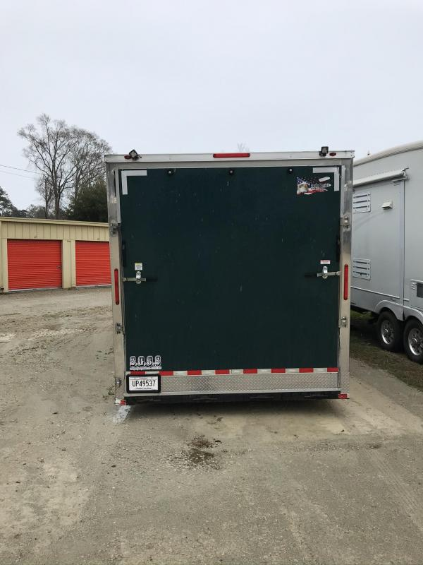 2018 Freedom 8.5 x 34 Gooseneck Enclosed Cargo Trailer