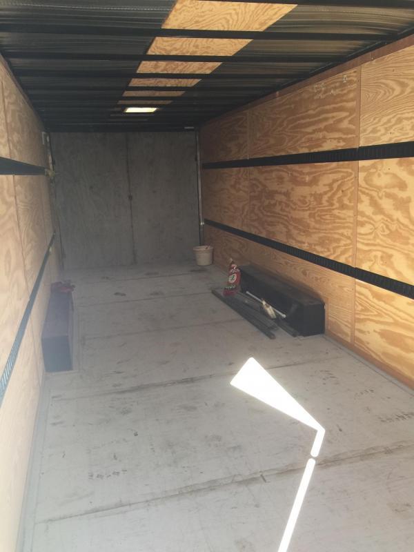 2015 Cargo Craft 36' Enclosed Cargo Carrier