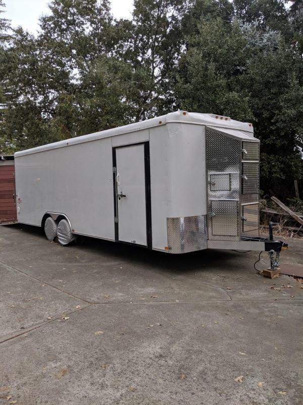 2017 Interstate Load Runner 8.5 x 24 Enclosed Cargo Trailer