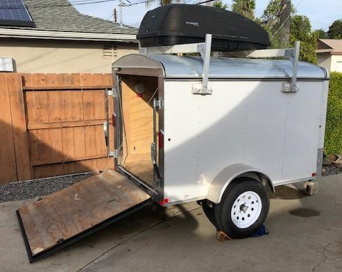 2018 Carry-On 5' x 8' Enclosed Cargo Trailer w/ Ramp