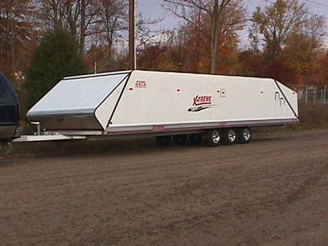 "2015 Montrose 102"" x 30' Snowmobile Trailer"