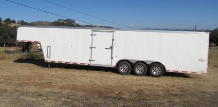 2013 Cargo Mate 8.5 x 36 Gooseneck Enclosed Cargo Trailer