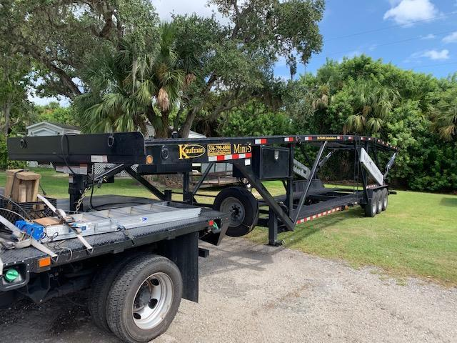 2019 Kaufman Trailers Mini 5 Car Trailer