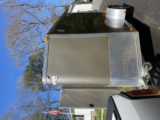 2009 Mission 5 x 8 Enclosed Motorcycle Trailer