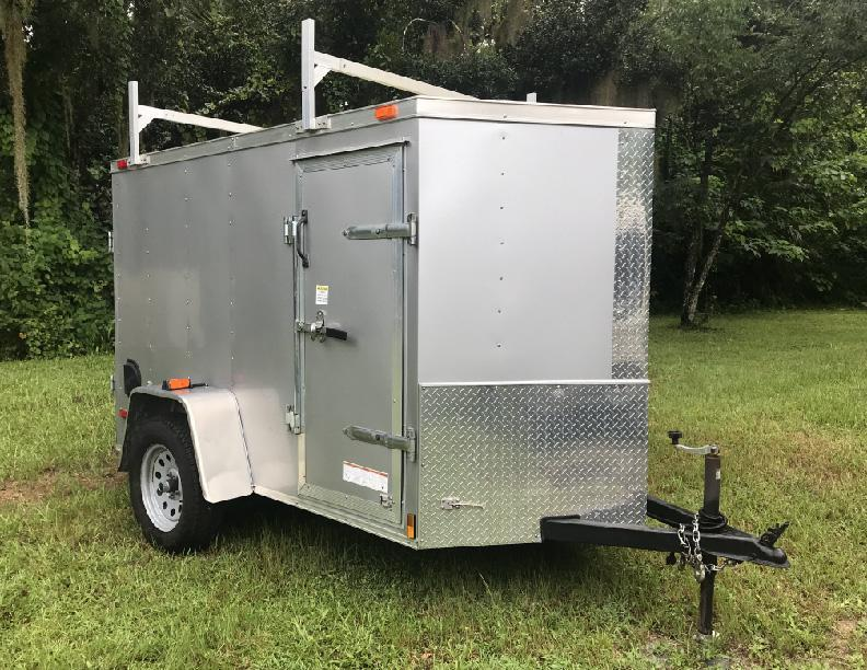 2015 Diamond Cargo 5 X 8 SA-3500 Enclosed Cargo Trailer