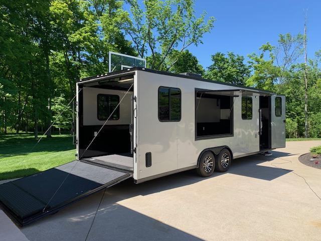 2019 Rock Solid 8.5 x 24 Toy Hauler / Car Hauler / Cargo Trailer