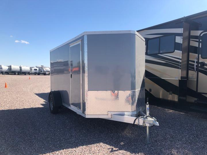 2018 E-Z Hauler EZEC 6x12 Single Axle Enclosed Cargo Trailer