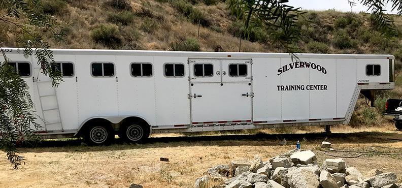 2000 Exiss Trailers 7 Horse Aluminum Slant Load Horse Trailer