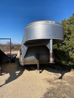1994 S and H 6 x 16 Rancher Stock Livestock Trailer