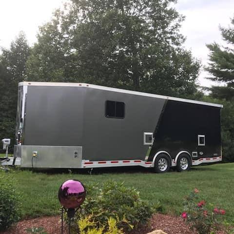 2016 ATC Quest 8.5 x 26 Enclosed Car / Motorcycle Trailer