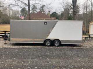 2018 Precision 8.5 x 24 Car / Racing Trailer