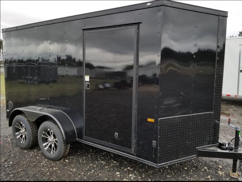 2019 USA Cargo BlackHawk 6x12 Tandem Axle Enclosed Cargo Trailer