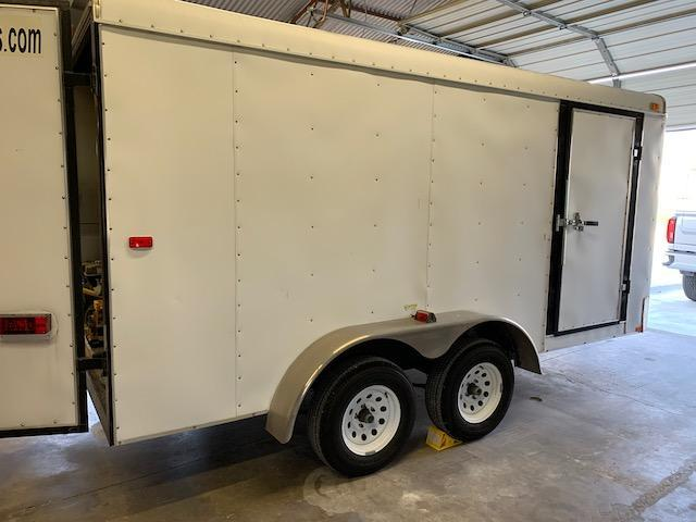 2011 Interstate Loadrunner 7 x 14 Enclosed Cargo Trailer