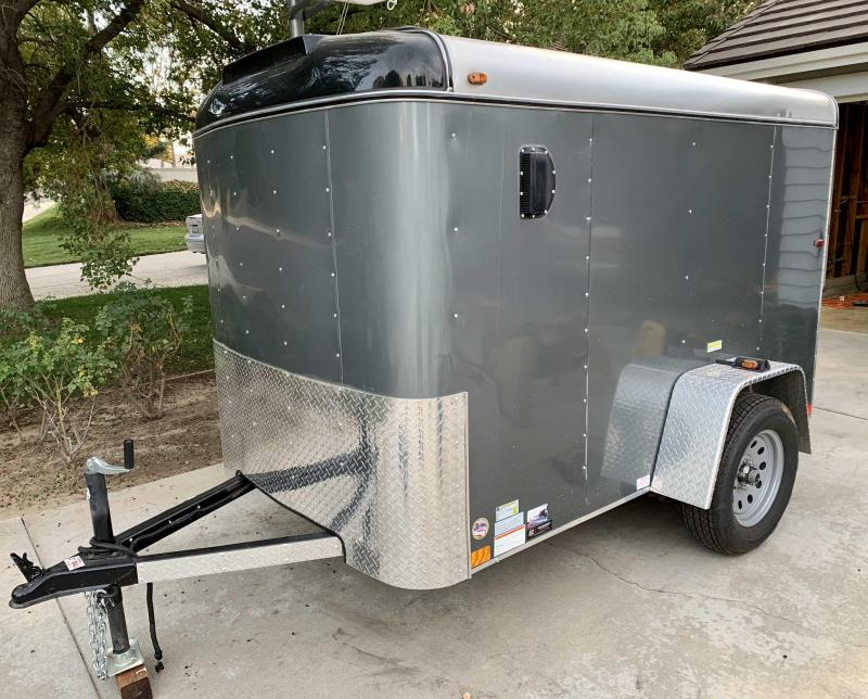 2019 Interstate LoadRunner 5 x 8 Single Axle Enclosed Cargo Trailer