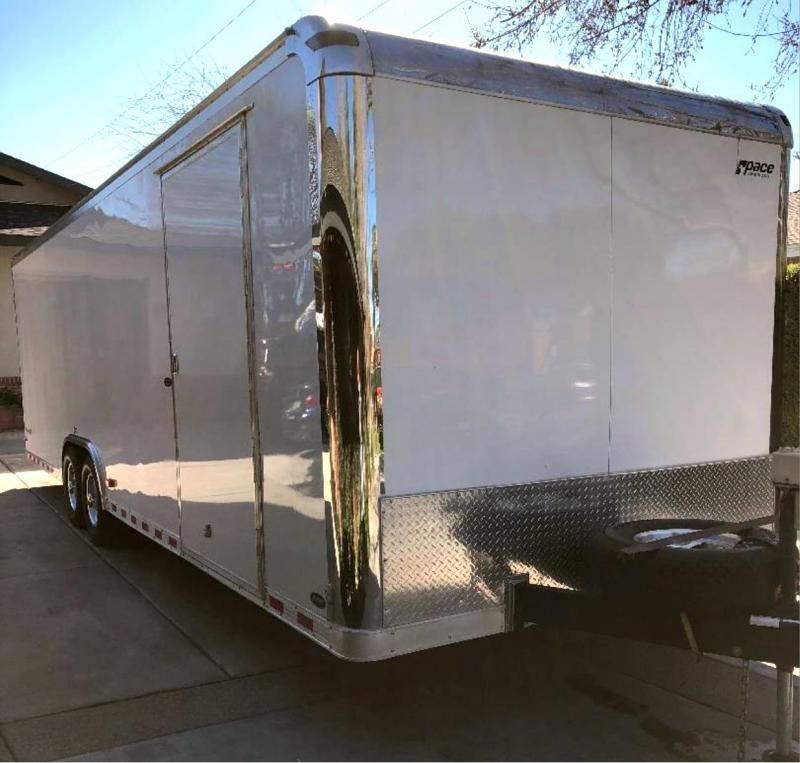 2008 Pace American Shadow GT 8.5 x 28 Enclosed Cargo Trailer