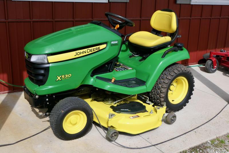 2012 John Deere X530 Multi Terrain Lawn Mower