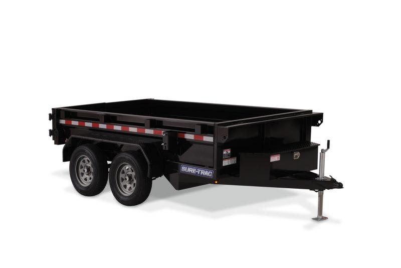 2020 Sure-Trac 72 x 12  Utility Dump 9K Single Ram