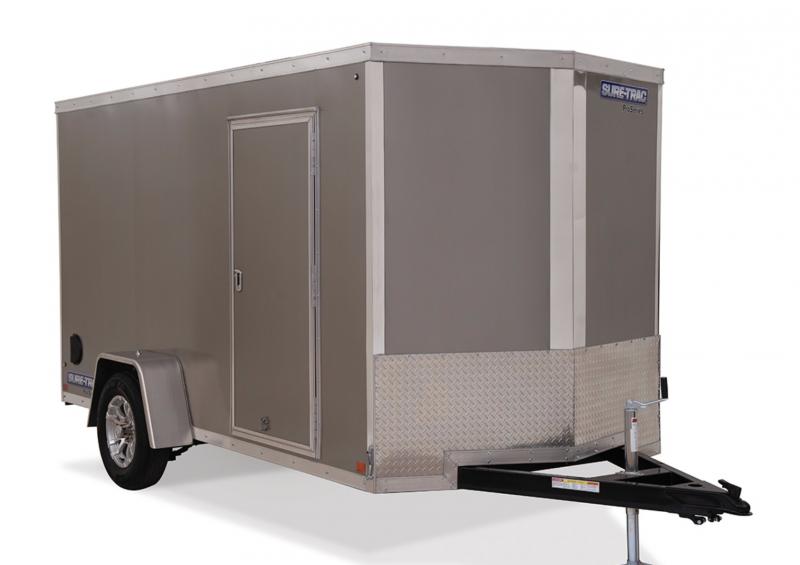 "2020 Sure-Trac 7 x 12 x 72""  Wedge Enclosed Cargo Trailer"