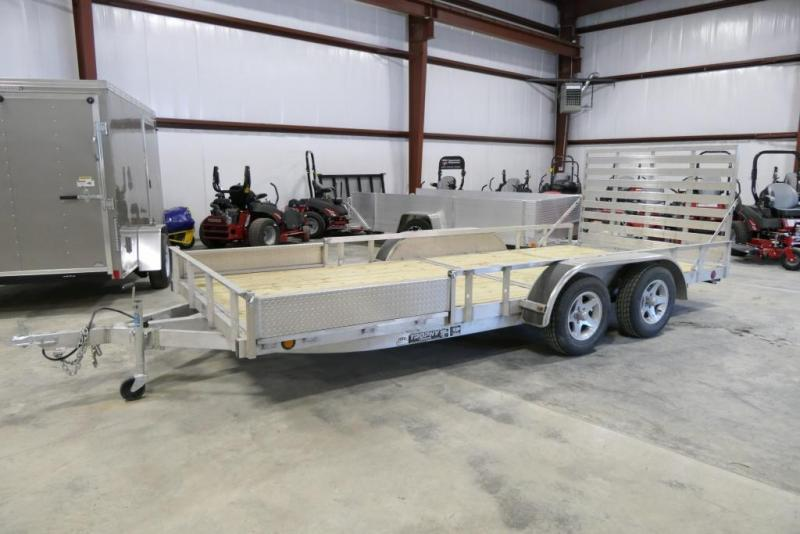 2019 Trophy 7 x 16 ATV Trailer w/ Side Ramp