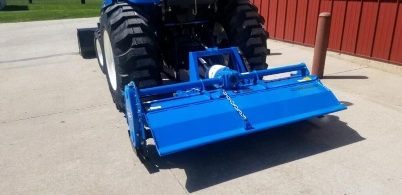 "2020 LS Tractor Implement  Tiller 48"" Attachment"