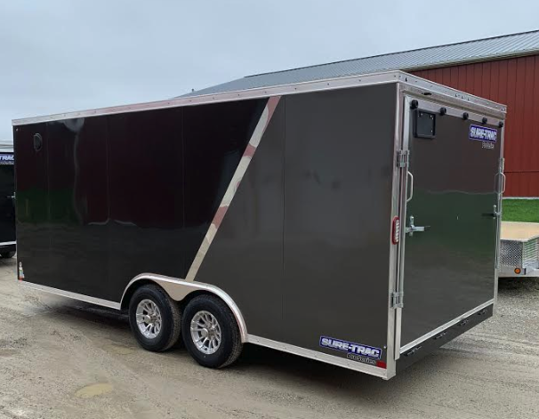 "2019 Sure-Trac 8.5' x 18' x 78"" Pro Wedge Enclosed Cargo Trailer"