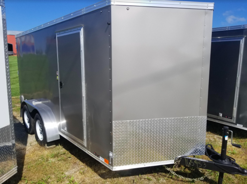 "2019 United Trailers XLV Wedge 7' x 14' x 72"" Enclosed Cargo Trailer"