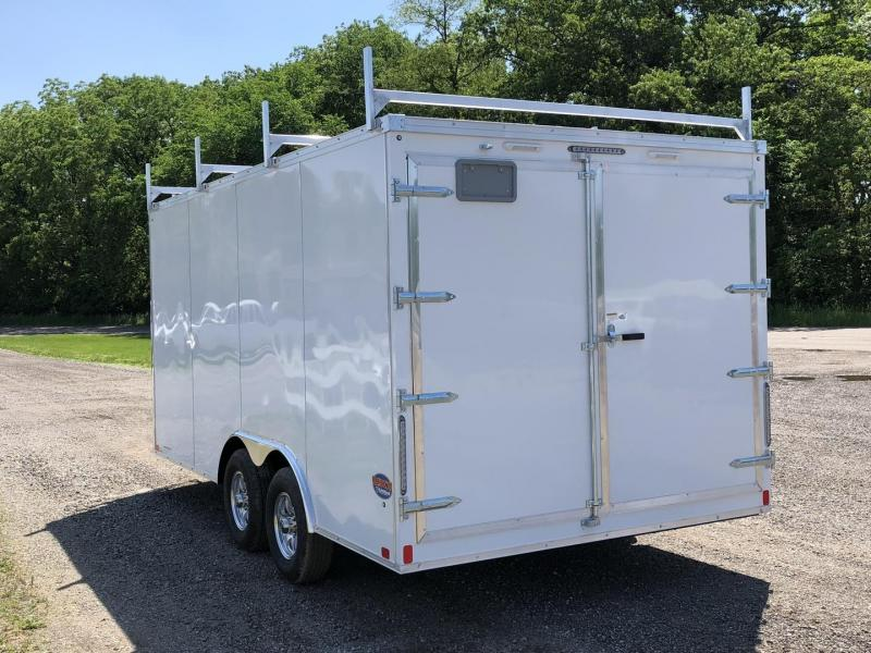 "2019 United Trailers UXT Tool Crib 8.5' x 16' x 78"" Enclosed Cargo Trailer"