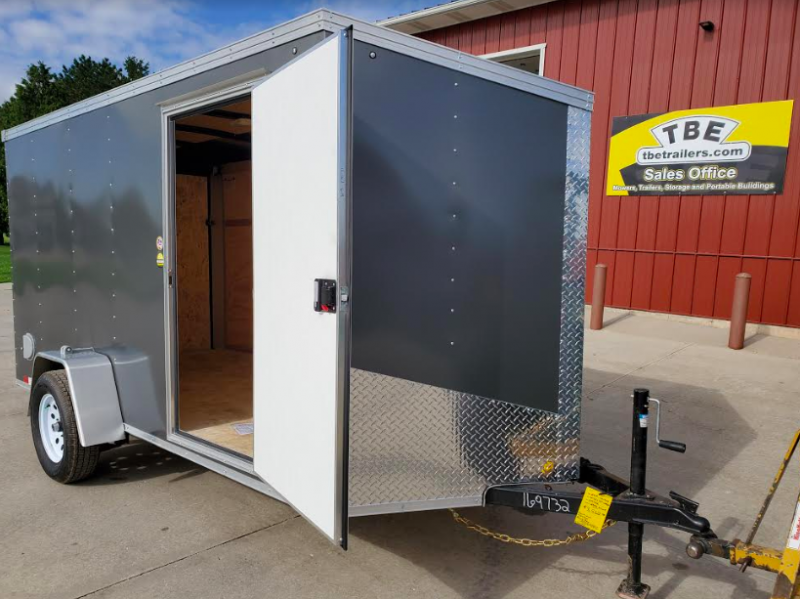 "2019 United Trailers XLV 6' x 12' x 72"" Enclosed Cargo Trailer"