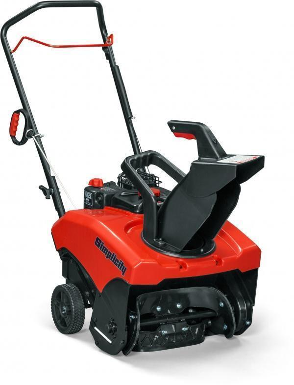 Simplicity Snowblower  - Single Stage 1222EE