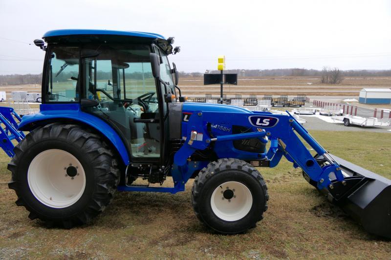 2020 LS Tractors XR4155HC Cab & Loader