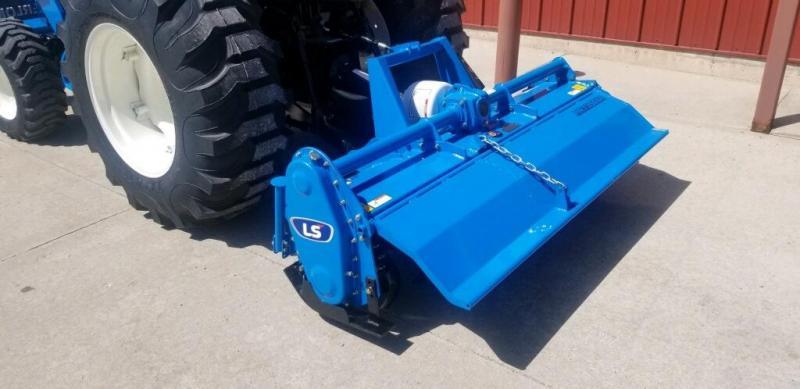 "2020 LS Tractor Implement Tiller 66"" Attachment"