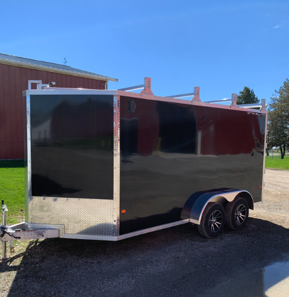 """2019 CargoPro Stealth 7' x 14' x 78"""" Wedge Enclosed Cargo Trailer"""