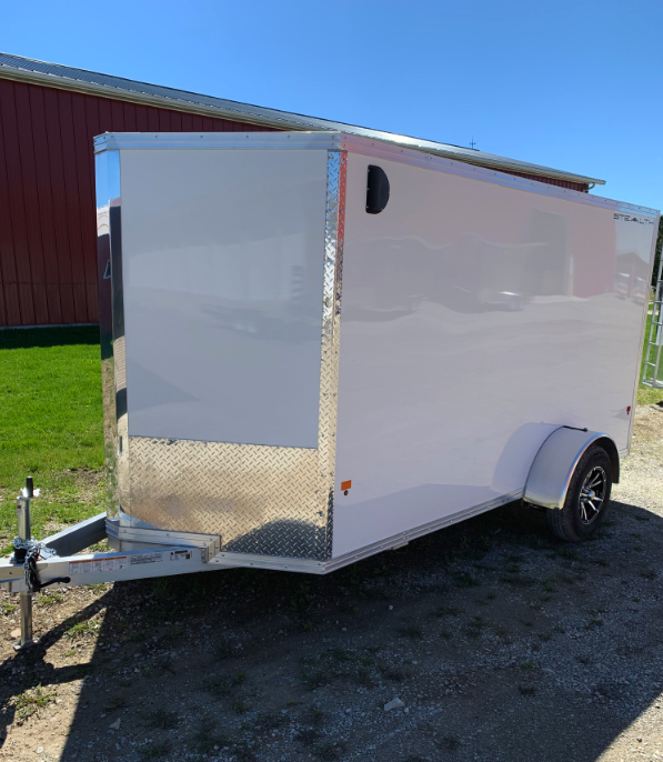 """2019 CargoPro Stealth 6' x 12' x 72"""" Wedge Enclosed Cargo Trailer"""