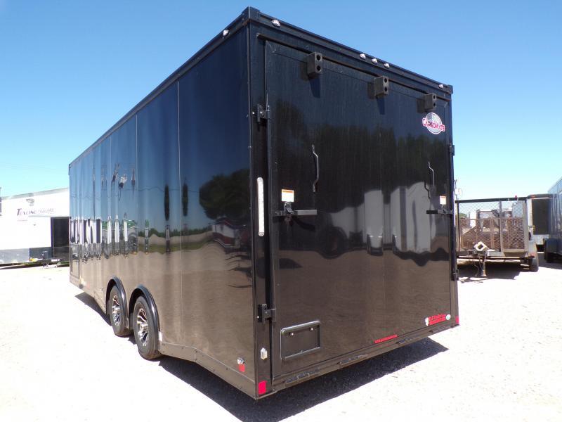 2021 Cargo Mate  8.5 x 24 NS Car / Racing Trailer