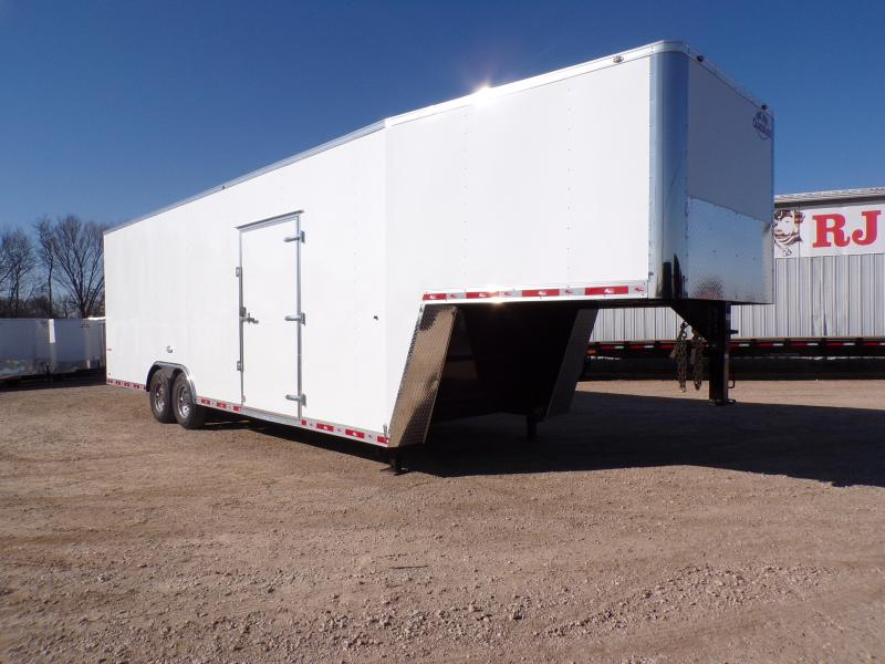 2020 Cargo Mate 8.5 x 32 Gooseneck Enclosed Cargo Trailer